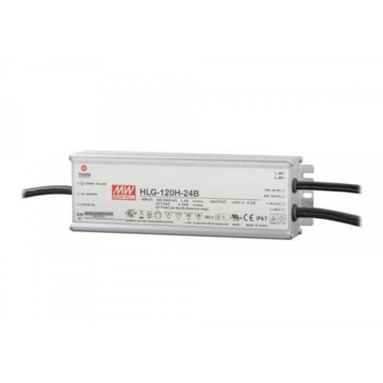 Lucente Meanwell Leddriver 120W 24V IP67 dimbaar