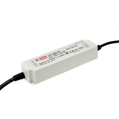 Lucente Meanwell Leddriver 25W 24V IP67 dimbaar