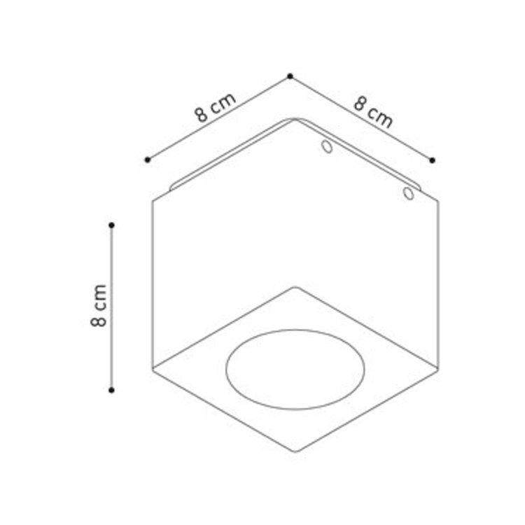 Dexter Cube XL ceiling