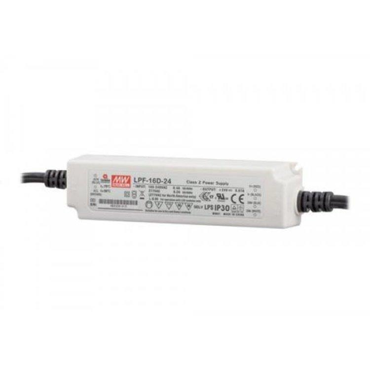 Lucente Meanwell Leddriver 16W 24V IP67 dimbaar