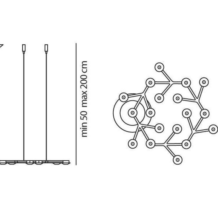 Artemide Artemide Led Net circle Sopensione