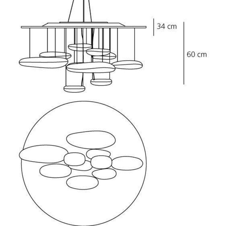 Artemide Artemide Mercury suspension