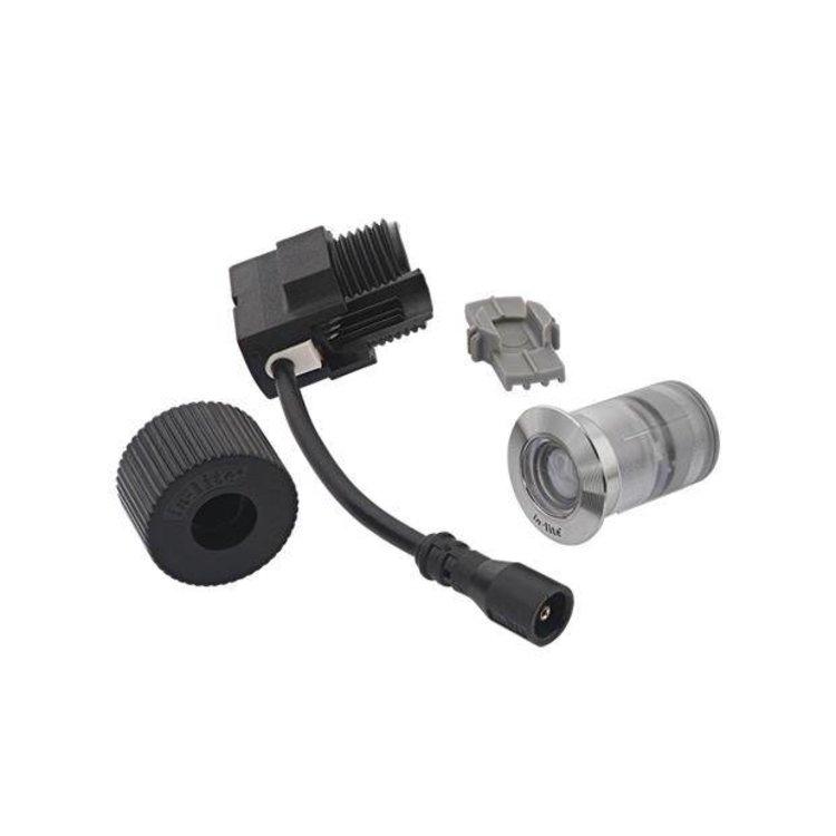 In-Lite buitenlampen en tuinverlichting 12 volt In-Lite Fusion 22 RVS