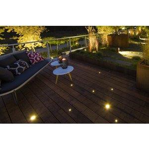 In-Lite buitenlampen en tuinverlichting 12 volt In-Lite Hyve 22 RVS