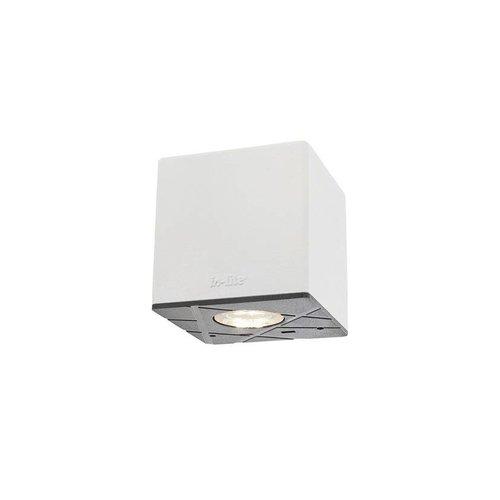 In-Lite buitenlampen en tuinverlichting 12 volt CUBID WHITE