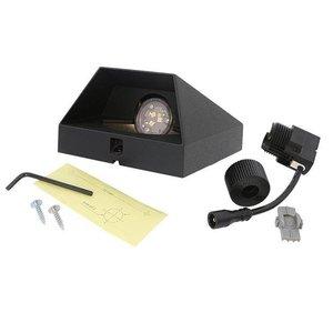In-Lite buitenlampen en tuinverlichting 12 volt In-lite WEDGE DARK