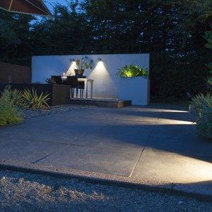 In-Lite buitenlampen en tuinverlichting 12 volt ACE DOWN CORTEN