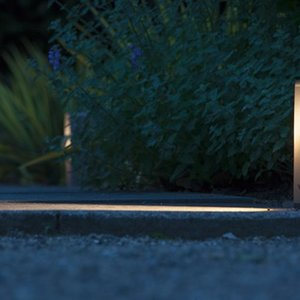 In-Lite buitenlampen en tuinverlichting 12 volt ACE WHITE