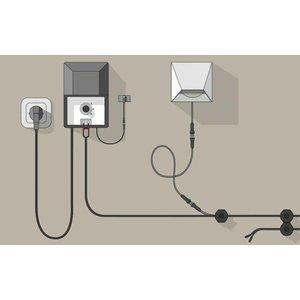 In-Lite buitenlampen en tuinverlichting 12 volt CBL-25 14/2 Kabel