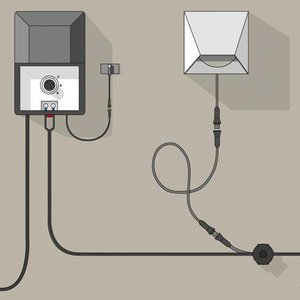 In-Lite buitenlampen en tuinverlichting 12 volt CBL-200 14/2 Kabel