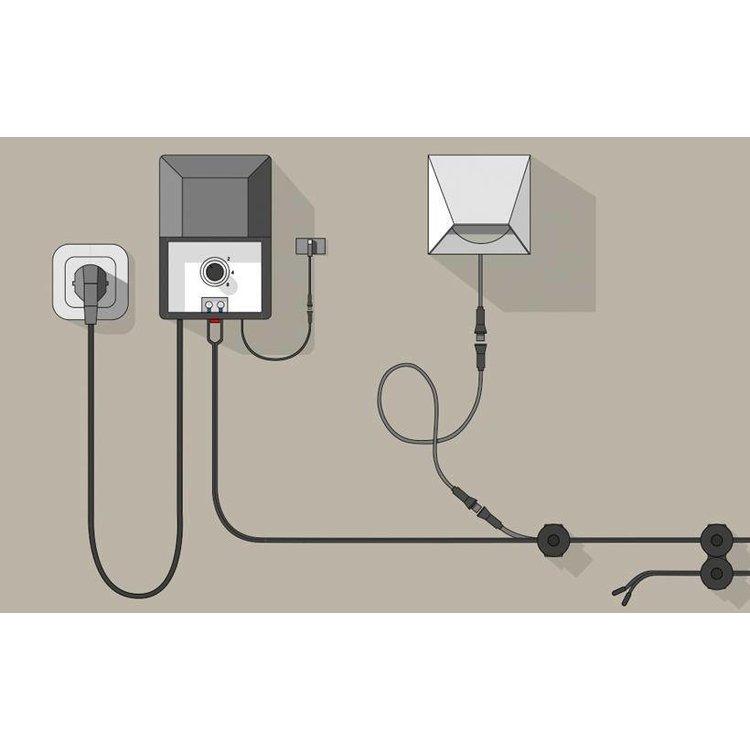 In-Lite buitenlampen en tuinverlichting 12 volt CABLE CAP  LARGE (20ST)