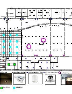 Lucente Lichtplan 500m3 en meer