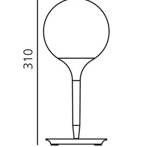 Artemide Artemide Castore 14 Tischleuchte
