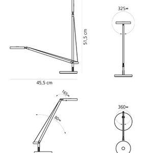 Artemide Artemide Demetra micro table bureaulamp