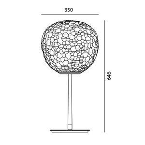 Artemide Artemide Meteorite table stem - Tafellamp