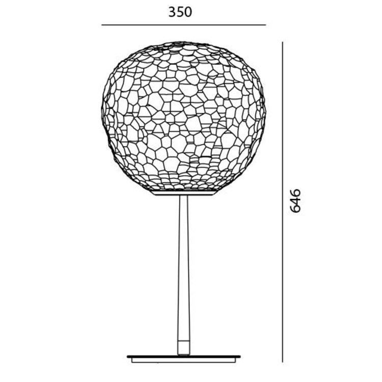 Artemide Artemide Meteorite table stem
