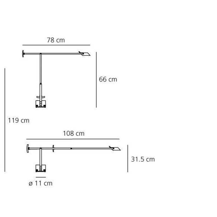 Artemide Artemide Tizio Led bureaulamp