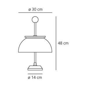 Artemide Artemide Alfa tafellamp