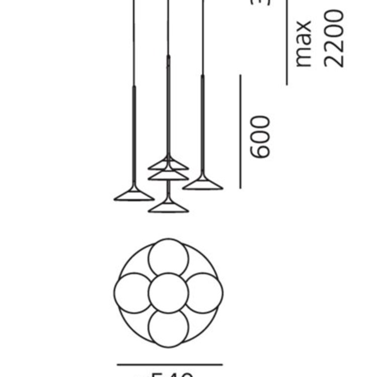 Artemide Artemide Orsa Hanglamp