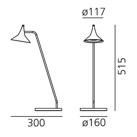 Artemide Artemide Unterlinden table