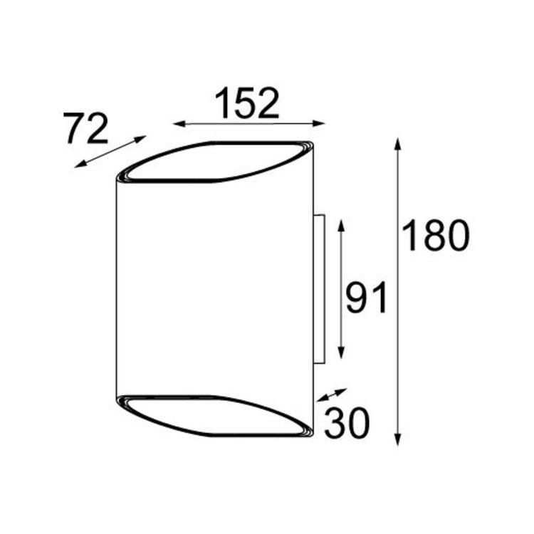 Modular Modular Trapz R7s (halogeen)