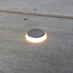 In-Lite buitenlampen en tuinverlichting 12 volt PUCK 22 ZILVER