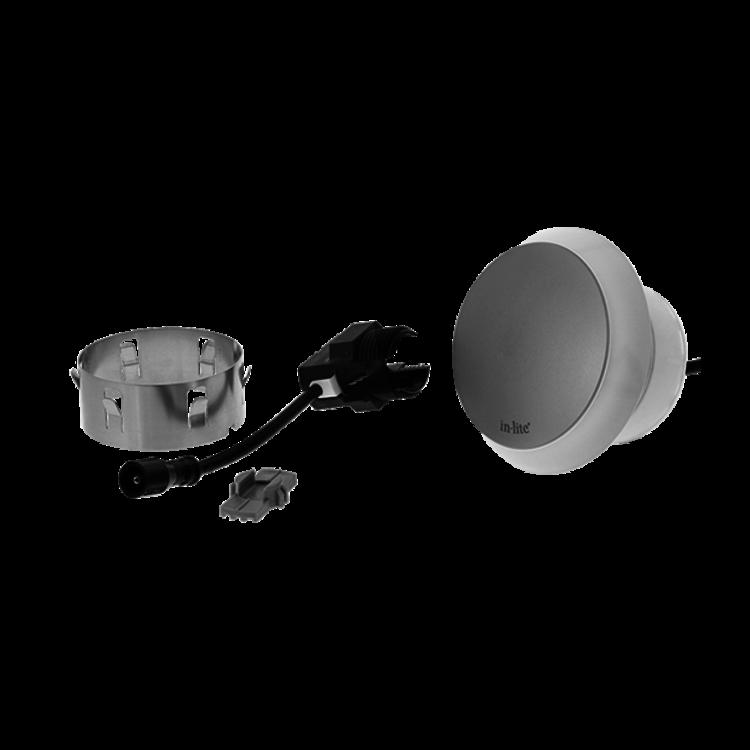 In-Lite buitenlampen en tuinverlichting 12 volt In-Lite Puck 22 ZILVER