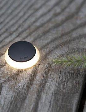 In-Lite buitenlampen en tuinverlichting 12 volt PUCK 22 ZWART