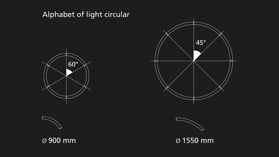 Artemide Artemide Alphabet of Light hanglamp APP compatible