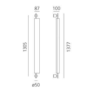 Artemide Artemide Colimaçon wandlamp