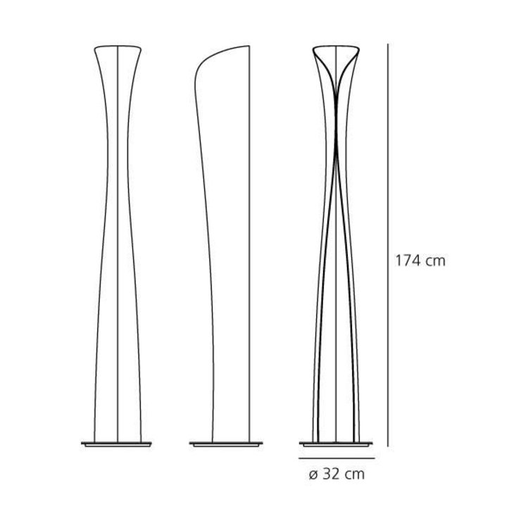 Artemide Artemide Cadmo LED vloerlamp