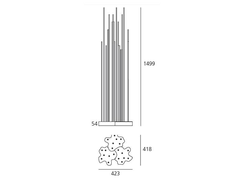 Artemide Artemide Reeds IP 20