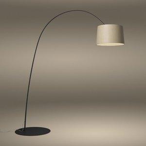 Foscarini Twiggy Wood  Led Vloerlamp (Booglamp)