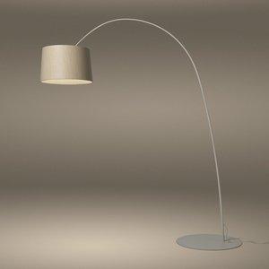 Foscarini Twiggy Elle Wood Led Vloerlamp (Booglamp)