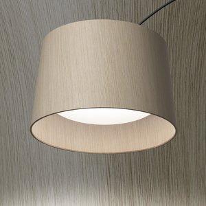Foscarini Foscarini Twiggy Wood Elle Led Vloerlamp (Booglamp)