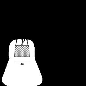 Foscarini Foscarini Twiggy Grid buiten booglamp - Copy