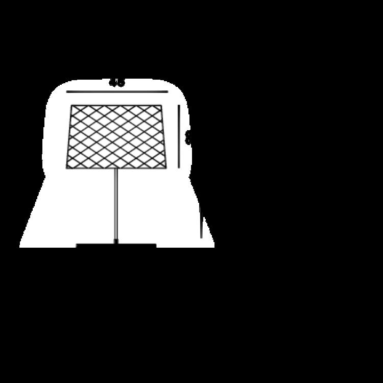 Foscarini Foscarini Twiggy Grid buiten tafellamp