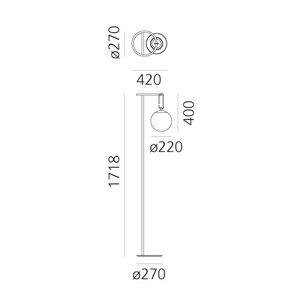 Artemide Artemide nh 22 vloerlamp