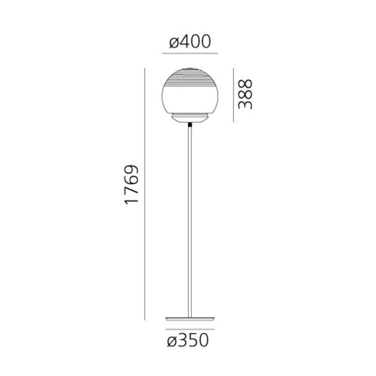 Artemide Vitruvio - Floor - Vloerlamp