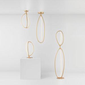 Artemide Artemide Arrival Floor - 70Ceiling - Plafondlamp