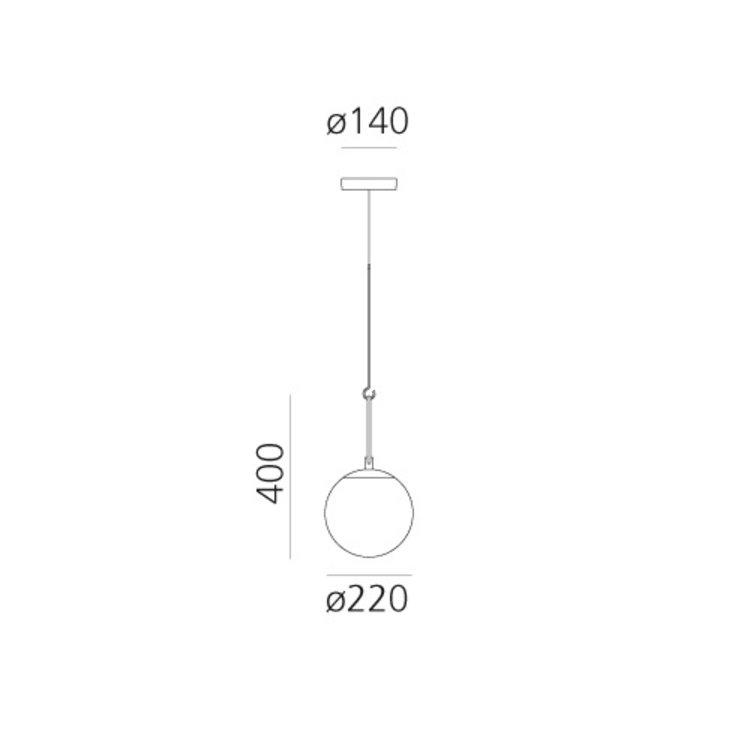 Artemide Artemide nh14 nh22 nh35 suspension