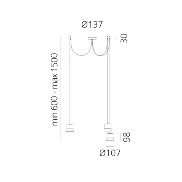 Artemide Giò light suspension - Copy - Copy