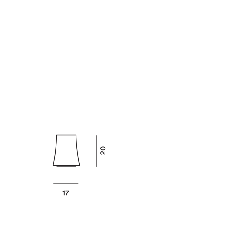 Foscarini Birdie Zero