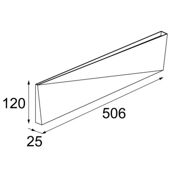 Modular Modular Dent large wandlamp
