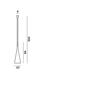 Foscarini Uto outdoor sospensione