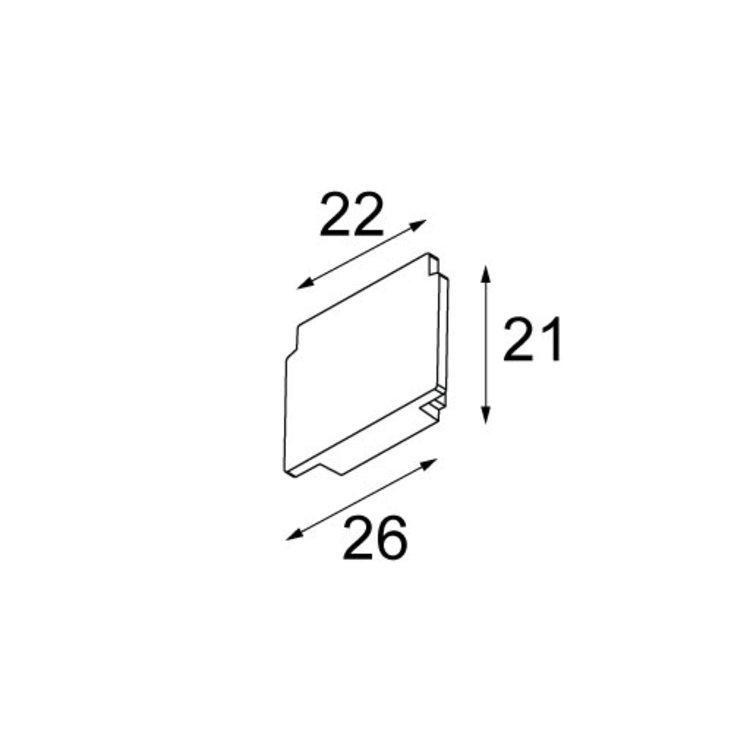 Modular Modular Pista 48V  endplate