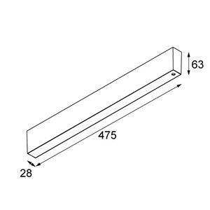 Modular Modular 48V  Surface Mounted LED gear