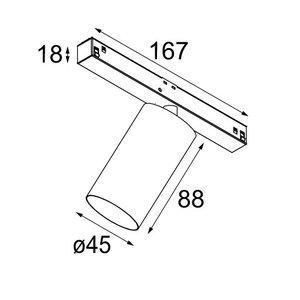 Modular Modular Pista Minude 45 1XLED