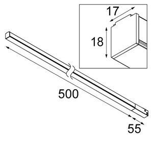 Modular Modular Linear 500mm Pista Track
