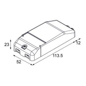 Modular Hue dim circuit module 150-300W 0/1-10V